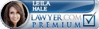 Leila L. Hale  Lawyer Badge