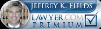 Jeffrey Keith Fields  Lawyer Badge