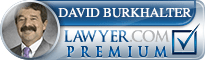David Burkhalter  Lawyer Badge