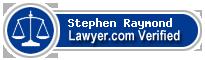 Stephen Louis Raymond  Lawyer Badge