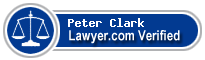 Peter Michael Clark  Lawyer Badge
