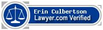 Erin Culbertson  Lawyer Badge
