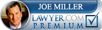 Joe Miller  Lawyer Badge
