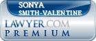 Sonya Anjanette Smith-Valentine  Lawyer Badge