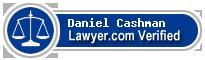 Daniel F. Cashman  Lawyer Badge