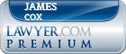 James Thomason Cox  Lawyer Badge