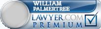 William Bradley Palmertree  Lawyer Badge