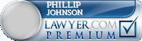 Phillip E. Johnson  Lawyer Badge
