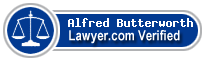 Alfred Z Butterworth  Lawyer Badge