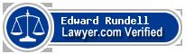 Edward E. Rundell  Lawyer Badge