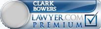 Clark Edward Bowers  Lawyer Badge
