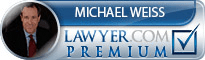Michael Jay Weiss  Lawyer Badge