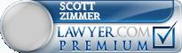 Scott Louis Zimmer  Lawyer Badge