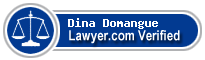 Dina Fae Domangue  Lawyer Badge