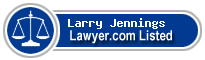 Larry Jennings Lawyer Badge
