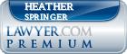 Heather Reitsma Springer  Lawyer Badge