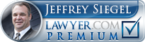 Jeffrey R. Siegel  Lawyer Badge