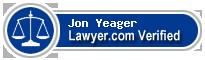 Jon Michael Yeager  Lawyer Badge