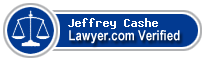 Jeffrey Charles Cashe  Lawyer Badge