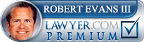 Robert Bartholomew Evans  Lawyer Badge