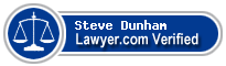 Steve Dunham  Lawyer Badge