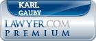 Karl Martin Gauby  Lawyer Badge