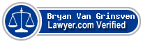 Bryan Lee Van Grinsven  Lawyer Badge