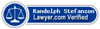 Randolph E Stefanson  Lawyer Badge