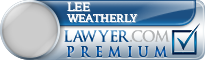 Lee Cannon Weatherly  Lawyer Badge
