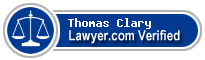 Thomas Sidwell Clary  Lawyer Badge