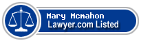 Mary Mcmahon Lawyer Badge