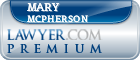 Mary S McPherson  Lawyer Badge