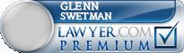 Glenn Lyle Maximilian Swetman  Lawyer Badge