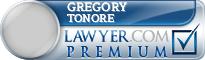 Gregory E. Tonore  Lawyer Badge