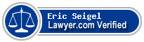Eric Wade Seigel  Lawyer Badge