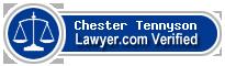 Chester L. Tennyson  Lawyer Badge