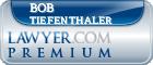 Bob Tiefenthaler  Lawyer Badge