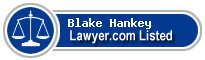 Blake Hankey Lawyer Badge