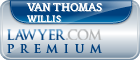 Van Thomas Willis  Lawyer Badge