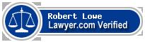 Robert Jeffrey Lowe  Lawyer Badge