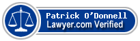 Patrick M. O'Donnell  Lawyer Badge