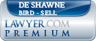 De Shawne Lee Bird - Sell  Lawyer Badge