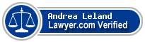 Andrea M. Leland  Lawyer Badge