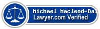 Michael W. Macleod-Ball  Lawyer Badge