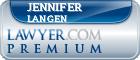 Jennifer Lyn Langen  Lawyer Badge