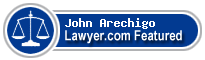 John Arechigo  Lawyer Badge