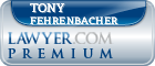 Tony Wayne Fehrenbacher  Lawyer Badge
