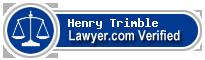 Henry Weeks Trimble  Lawyer Badge