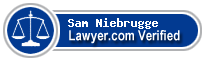 Sam Gordon Niebrugge  Lawyer Badge