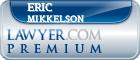 Eric Thomas Mikkelson  Lawyer Badge